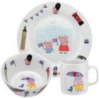 Buy Portmeirion Peppa Pig 3-Piece Set Peppa In London at Louis Potts