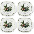 Buy Portmeirion The Holly and The Ivy Canape Dishes Set of 4 at Louis Potts