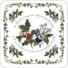 Buy Portmeirion The Holly and The Ivy Coasters Set of 6 at Louis Potts