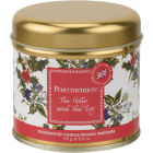 Buy Portmeirion The Holly and The Ivy Gold Tin Wax Filled Candle 7cm Holly & Ivy at Louis Potts