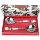 Buy Portmeirion The Holly and The Ivy Salad Servers 25cm at Louis Potts