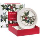 Buy Portmeirion The Holly and The Ivy Sweet Dish 10cm Set of 2 at Louis Potts