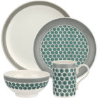 Buy Portmeirion Westerly 4 Piece Set Grey at Louis Potts