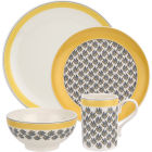 Buy Portmeirion Westerly 4 Piece Set Yellow at Louis Potts