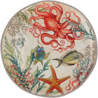 Buy Rose & Tulipani Sea Life Round Platter 42cm at Louis Potts