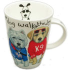 Buy Roy Kirkham Cats & Dogs Dog Animal Fashion Louise Mug at Louis Potts