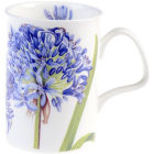 Buy Roy Kirkham Floral Agapanthus Blue Lancaster Mug at Louis Potts