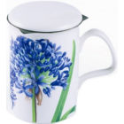 Buy Roy Kirkham Floral Agapanthus Lancaster Mug & Infuser at Louis Potts