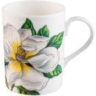 Buy Roy Kirkham Floral Botanica Lucy Mug White at Louis Potts