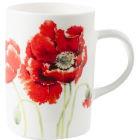 Roy Kirkham Floral Garden Poppy Lyric Mug I