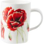 Roy Kirkham Floral Garden Poppy Lyric Mug II