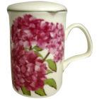 Roy Kirkham Floral Hydrangea Lancaster Mug & Infuser