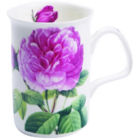 Buy Roy Kirkham Floral Les Roses Lancaster Mug Pink at Louis Potts