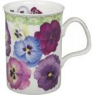 Roy Kirkham Floral Pansy Lancaster Mug I