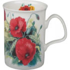 Buy Roy Kirkham Floral Poppy Lancaster Mug at Louis Potts