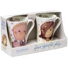 Buy Roy Kirkham Gilbert & Sweetie Wedding Day Emily Mug Pair Gift Set at Louis Potts