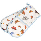 Buy Roy Kirkham Nature Butterfly Garden Double Oven Glove at Louis Potts