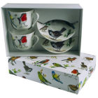 Buy Roy Kirkham Nature Garden Birds Giftboxed Set of 2 Breakfast Cup & Saucer at Louis Potts