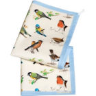 Buy Roy Kirkham Nature Garden Birds Tea Towel Set of 2 at Louis Potts