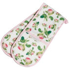 Buy Roy Kirkham Redoute Rose Double Oven Glove at Louis Potts