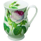 Roy Kirkham Redoute Rose Mug Eleanor