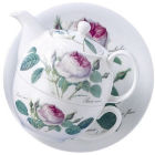 Roy Kirkham Redoute Rose Tea-for-One