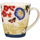 Buy Royal Horticultural Society RHS Mugs Mug Blooms & Butterflies Blue at Louis Potts