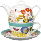 Buy Royal Horticultural Society RHS Mugs Tea For One Blooms & Butterflies at Louis Potts