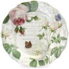 Royal Worcester RHS Roses Plate 20cm