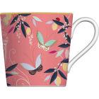 Buy Sara Miller Orchard Collection Mug Orchard Butterflies Peach at Louis Potts