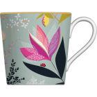 Buy Sara Miller Orchard Collection Mug Orchard Floral Duck Egg Sage at Louis Potts