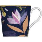 Buy Sara Miller Orchard Collection Mug Orchard Floral Navy at Louis Potts