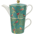 Buy Sara Miller Chelsea Collection Tea For One Chelsea Green at Louis Potts
