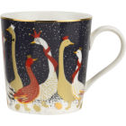 Buy Sara Miller Christmas Collection Mug Christmas Geese at Louis Potts