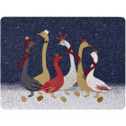 Buy Sara Miller Christmas Collection Placemat Set of 4 Christmas Geese at Louis Potts