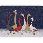 Buy Sara Miller Christmas Collection Placemat Set of 4 Large Christmas Geese at Louis Potts