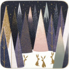 Buy Sara Miller Frosted Pines Collection Coaster Set of 6 Frosted Pines at Louis Potts