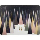 Buy Sara Miller Frosted Pines Collection Placemat Set of 4 Large Frosted Pines at Louis Potts