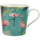 Buy Sara Miller Tahiti Collection Mug Tahiti Flamingo at Louis Potts