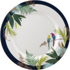 Buy Sara Miller Tahiti Collection Picnic Dinner Plate 28cm Tahiti Parrot at Louis Potts