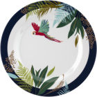 Buy Sara Miller Tahiti Collection Picnic Side Plate 20cm Tahiti Parrot at Louis Potts