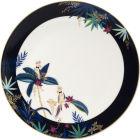 Buy Sara Miller Tahiti Collection Round Platter Tahiti Cockatoo at Louis Potts