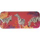 Buy Sara Miller Tahiti Collection Slider Tin Mini Tahiti Zebras Red at Louis Potts