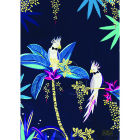 Buy Sara Miller Tahiti Collection Tea Towel Tahiti Cockatoo Placement Blue at Louis Potts