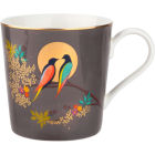 Buy Sara Miller Chelsea Collection Mug Chelsea Dark Grey at Louis Potts