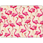 Buy Sara Miller The Collection Placemat Large Set of 4 Flamingo at Louis Potts