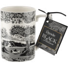 Buy Spode Black Italian Mug at Louis Potts