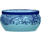 Buy Spode Blue Italian Boutique Tin Wax Filled Candle Italian Florals at Louis Potts