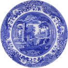 Buy Spode Blue Italian Breakfast Saucer at Louis Potts