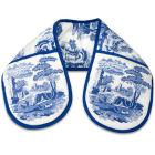 Buy Spode Blue Italian Double Oven Glove at Louis Potts